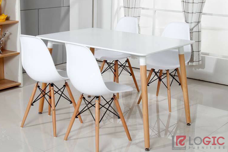 Bàn cafe Eames BE-80120w